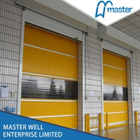 Automatic Commercial High Speed PVC Roll Up Doors