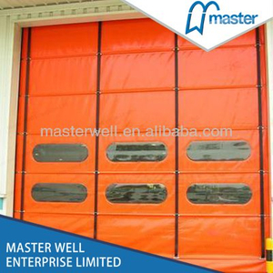 Flexible Commercial High Speed PVC Stacking Doors