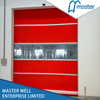 Automatic Commercial High Speed PVC Self Repairing Zipper Doors