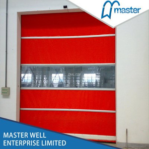 Self Repairing Commercial High Speed PVC Roll Up Doors