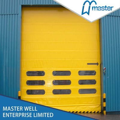 Automatic Commercial High Speed PVC Stacking Doors