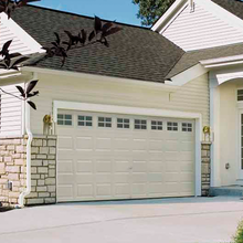 White Classic Sectional Garage Door