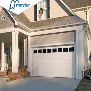 Premium Carriage House Spectacular Sandwich Steel Vertical Lift Sectional Garage Doors