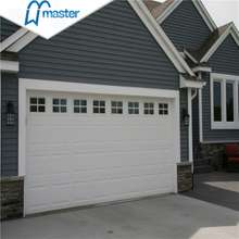 Customized Commercial Insluted Glass Vertical Lift Sectional Garage Doors