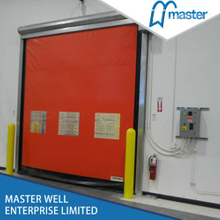 Flexible Commercial High Speed PVC Zipper Doors