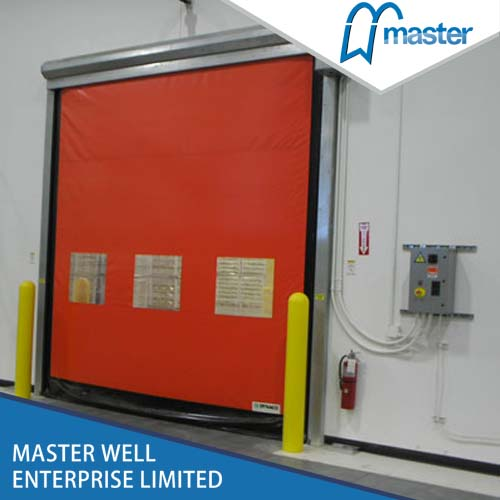 Flexible Industrial High Speed PVC Self Repairing Zipper Doors