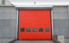 Insulated High Speed PVC Zipper Car Wash Doors