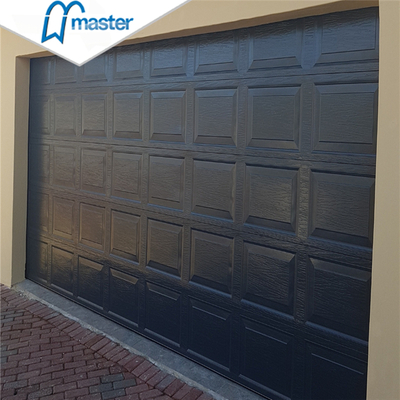 Windload Rated Commercial Low Headroom Tempered Glass Roll Up Garage Doors