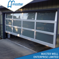 8'x8' Modern Insulated Aluminum Glass Garage Door