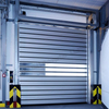 Turbine Commercial Wind Proof Aluminum Alloy Spiral High Speed Hard Fast Rolling Doors