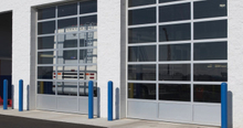 Interior Commercial Insulated Aluminum Glass Garage Door