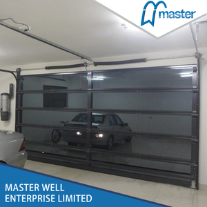 Interior Commercial Anodized Aluminum Glass Garage Door