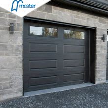 Classic Universal Remote Insulated White Aluminum Overhead Garage Doors with Glass