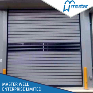 Efficient Logistics Dust Proof Metal Spiral High Speed Hard Fast Shutter Doors