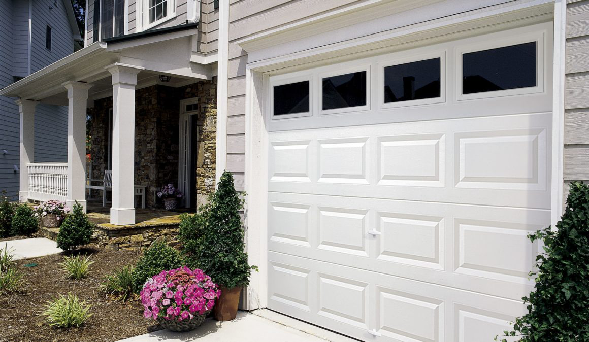 How sectional garage doors work?