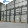 Electrical Side Sliding Steel Vertical Lift Industrial External Doors with Entrance