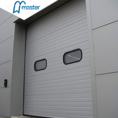 Electrical Thermal Insulated Steel Vertical Lift Industrial External Doors with
