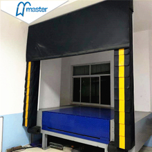 Impactful Industrial Curtains Rigid Dock Shelter