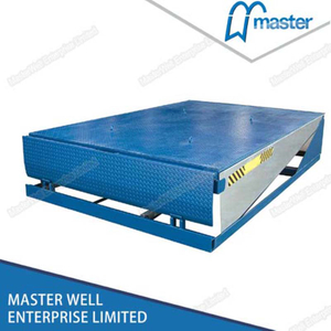 12T Automatic Vertical Container Loading Dock Leveler