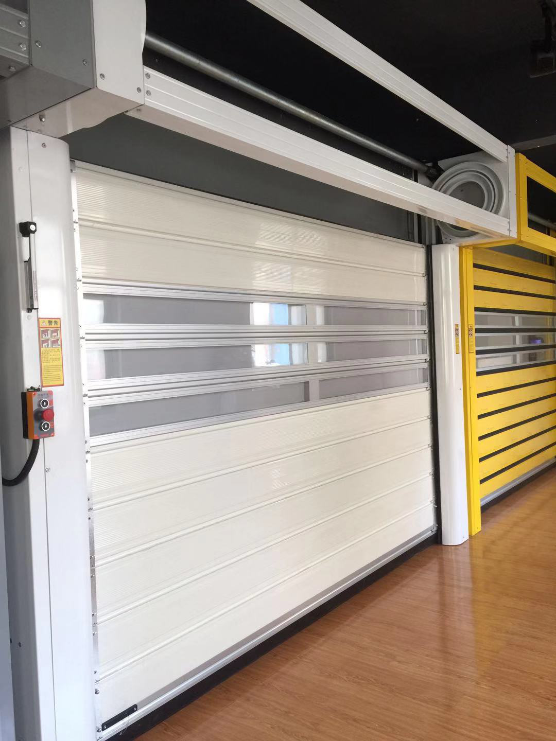 Why do you need a high speed spiral door?