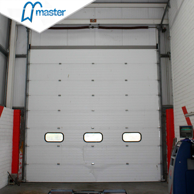 Electrical Galvanized Steel Secure Insulated High Speed Industrial Doors W