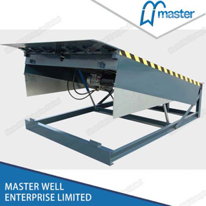 10000 Kg Hydraulic Vertical Outdoor Loading Dock Leveler