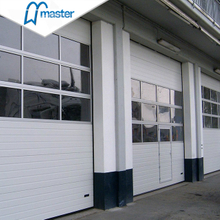 Fast Action PU Foam Secure Insulated High Speed Industrial Doors with Glas