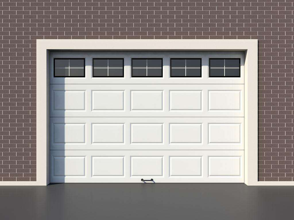 What is garage door made of?