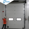 Electrical Fireproof Steel Industrial Sliding Doors with Entrance